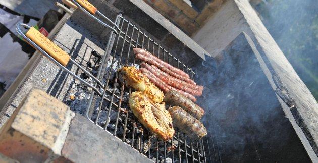 barbecue en vacances