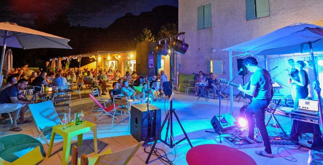 soiree musicale du camping